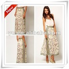 2013 Summer Fahion Scarf Print Maxi Skirt,Ladies Skirt