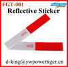 30*5CM Truck Warning Stickers Tape Car 3M Reflective Sticker
