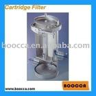Cartridge filter housing sus304