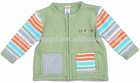 ready made minimode baby clothing sweater cardigan Green