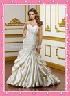 Popular Applique Mermaid Wedding Dress