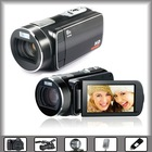 "hot sale video and still image camcorder 12mp with 3"" TFT LCD display, USB2.0, LED light"