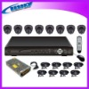 8CH CCTV H.264 DVR security system KITS
