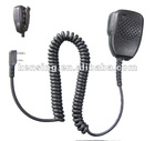 Speaker microphone for walkie talkie or military