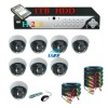 650TVL Security Camera 8 CH CCTV DVR System 1TB