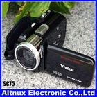 HD Digital Video camera Mini DV Camcorder MP3 Player 3.0 inch rotate LCD screen SC75