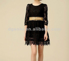 High quality cotton lace clothing