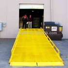 mobile yard ramp for loading and unloading goods