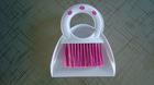 mini dustpan with brush