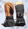 leather mitten gloves