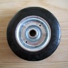 8x2 solid rubber wheel