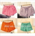 2012 Hot Lady's Short Pants in Summer with 98% Cotton & 2% Spx
