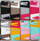 Fashion Design Crocodile Shape with Stander Cover Case for iPhone 5