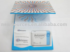 3D beveled memo with hard cover