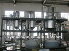 Zinc sulfate evaporation crystallization device