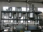 Zinc sulfate evaporation crystallization device