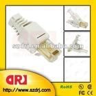 Tooless RJ45 plug
