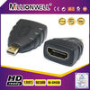 new HDMI type A female to type D male adapter