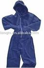 lady velour training suit