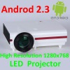 Professional Android LED Wifi RJ45 720 LCD Video Projector