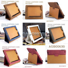 High End Textured Lizard Skin PU Leather Case for Pad2 with Stander