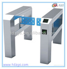 Automatic turnstile & swing barrier gate & full turnstiles gate barrier with IC, ID card reader