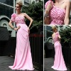 D30606 best selling fashion women one shoulder formal long ceremony dress evening gown