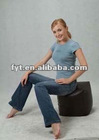 bean bag chair cube