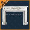 China Natural Stone Fireplace Mantel Supplier
