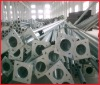 Hot dip galvanized steel poles