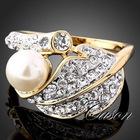 Lady 18K Gold Ring,Gemstone Women Ring,YR350