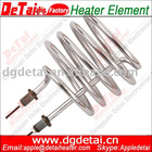 Polished Stainless Steel Tubular Electric Heater For Water Heater
