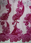 velvet fabric,velvet lace,embroidery lace