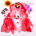Chinese style fashion 100% silk scarf for 2012 autumn and winter