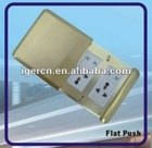 Flat push Type Floor Sockets HGD-8T(IP65) with CE