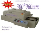 New Light Source infrared Reflow Oven / SMD Reflow Oven T960 continuous weld area 300*960mm