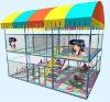 The Double Children Trampoline Playground