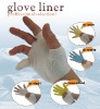 Nylon knitted liner working gloves