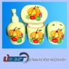 4/S Ceramic Bath Tools Bathroom Set