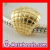Gold Plated Sea Shell Jewelry Beads