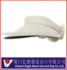UV Large Peak Golf Visor-Natural