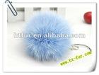 Fox Fur Ball Fur Accessories For Garment, Shoe, Bag