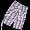 men plaid breeches