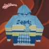 sublimation heat-transfer printing sweatshirt with hood