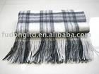 100% cashmere plaid wollen weaving blanket