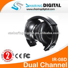 Sharing Digital Foldable IR Headphone for CAR Vehicle DVD Player System