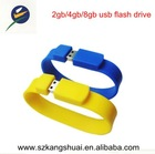 wholesale 2gb 4gb 8gb wrist wrap usb flash drive