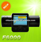 F6000 Car DVR Video Full HD 1080P 2.0 TFT LCD and 5.0 mega pixel 132 degree wide angle lens + 270 degree rotation