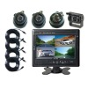 7 Inch Quad LCD Stand Alone Monitor with 4 Truck or Bus Cameras (UN-MC-T70-4)