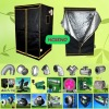 Multi-Span Agricultural Greenhouses Grow Tent Kits, Garden Glowing Plant Tent
